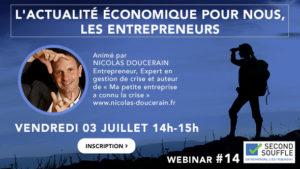 L'actualité économique pour nous, les Entrepreneurs