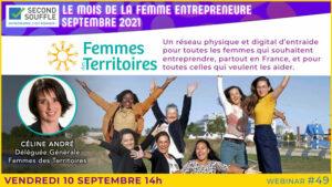 Femmes des Territoire. Mois de la Femme Entrepreneure sept 2021